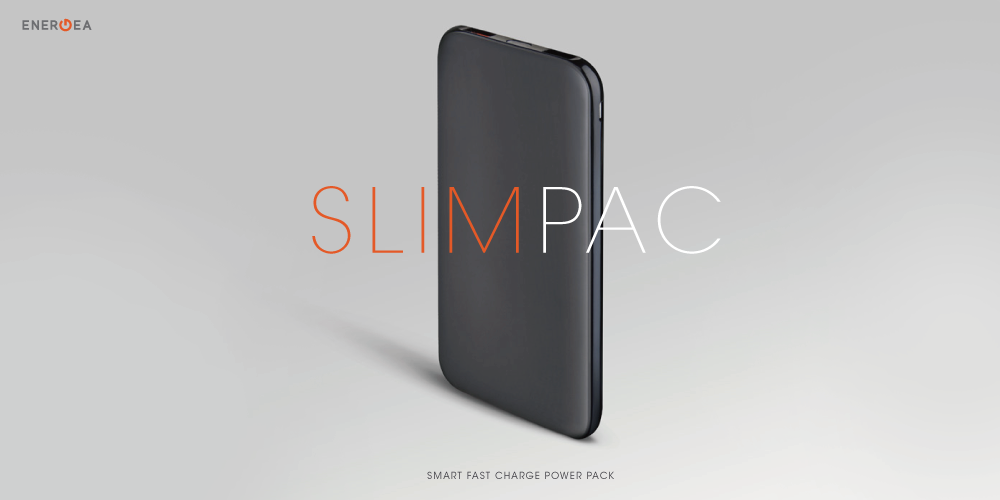 SlimPac/10,000mah/Smart Fast Charge 3.0(ブラック)