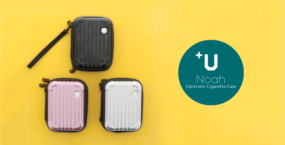 【+U】Noah/キャリーケース風Electronic Cigarette Case