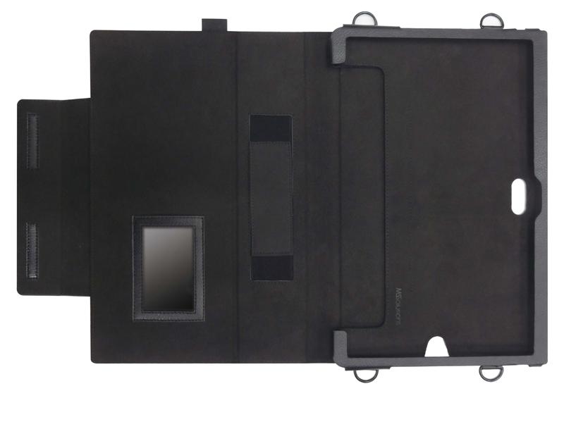ARROWS Tab Q775/K向け 首掛け 合成皮革ケース
