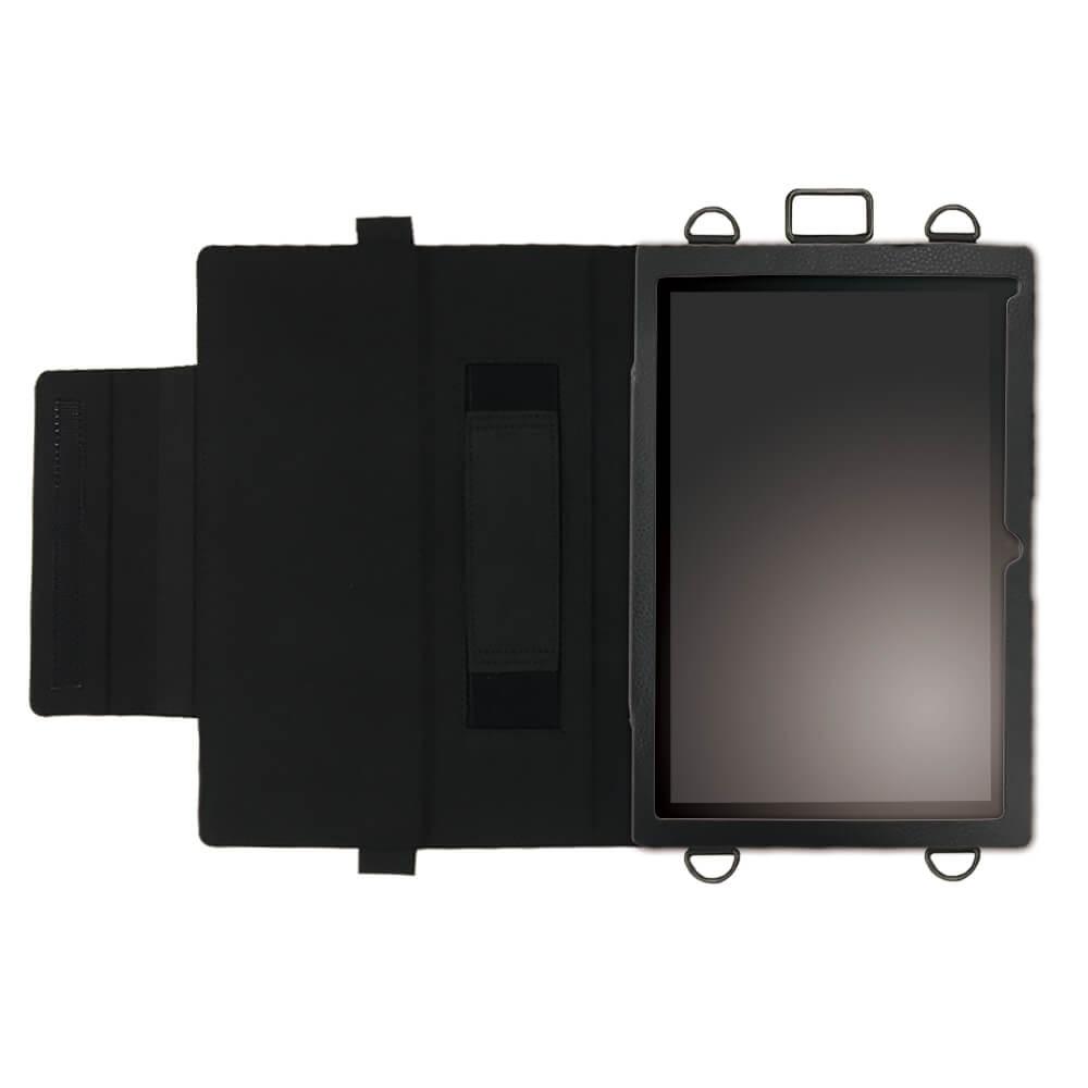 dynabooktab S80/A 首掛け 合成皮革ケース ブラック