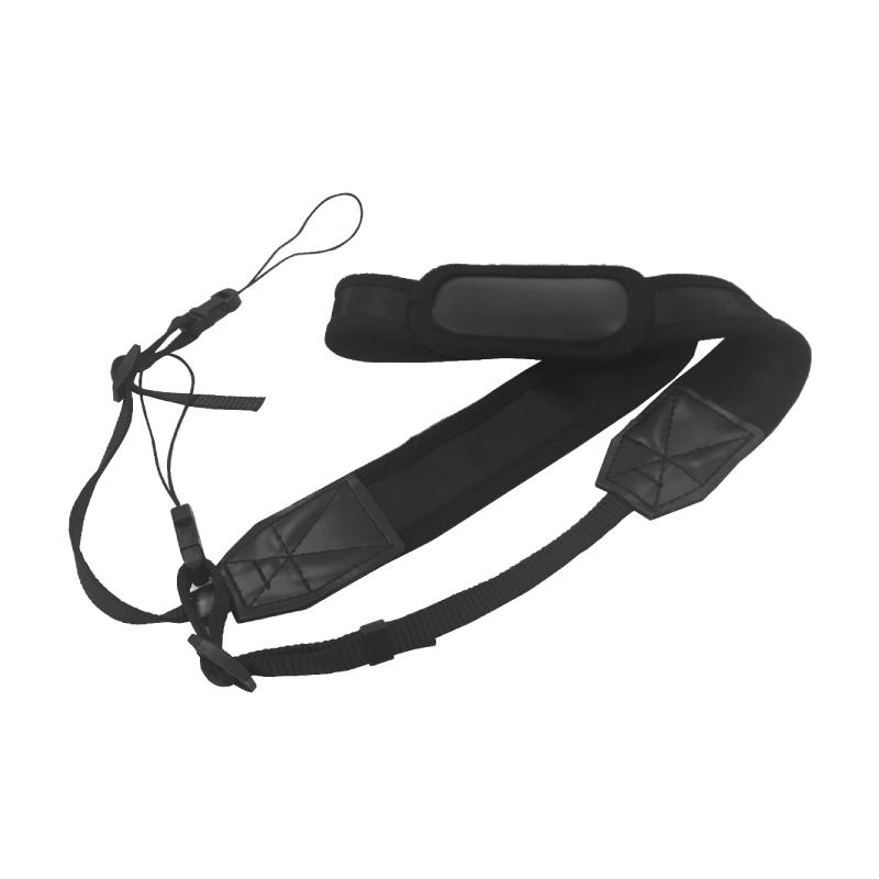 汎用 ナイロン製ネックストラップ ブラック