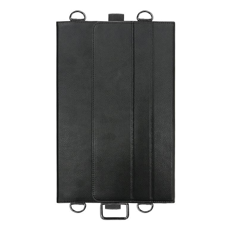 ARROWS Tab Q665/M / Q665/L / Q616/P / Q616/N 首掛け合成皮革ケース ブラック