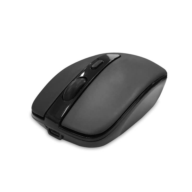 充電式ワイヤレスマウス ブラック