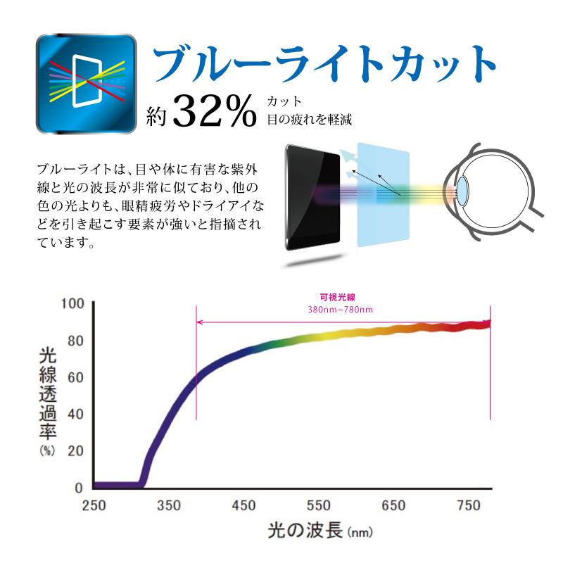 HP Pro x2 612 G2 フッ素配合抗菌 ブルーライトカット保護フィルム マット