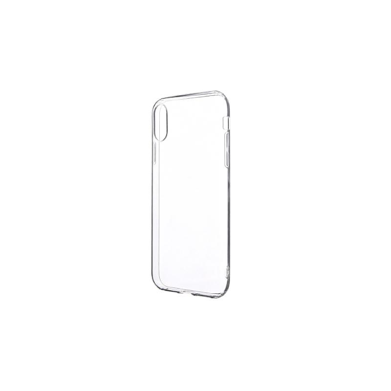 iPhone X/iPhone XS ストラップホール付き TPUケース クリア