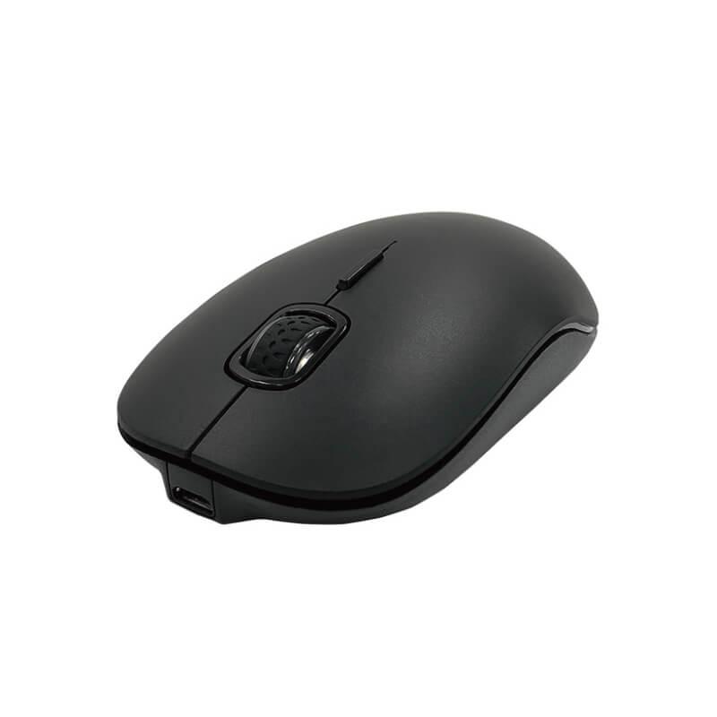 Bluetooth充電式ワイヤレスマウス ブラック