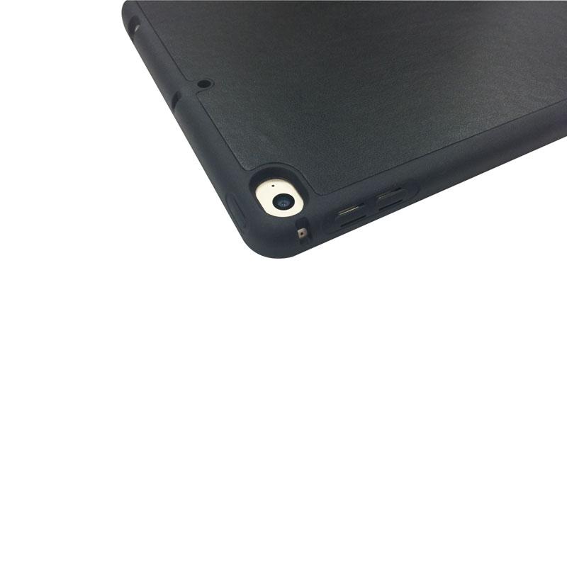 iPad mini 2019/iPad mini 4 Apple Pencil収納付きフラップケース ブラック