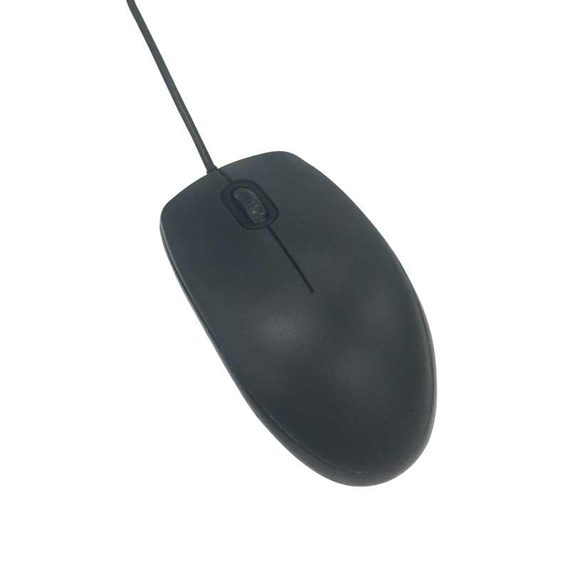 USB Type-C 有線光学式マウス ブラック