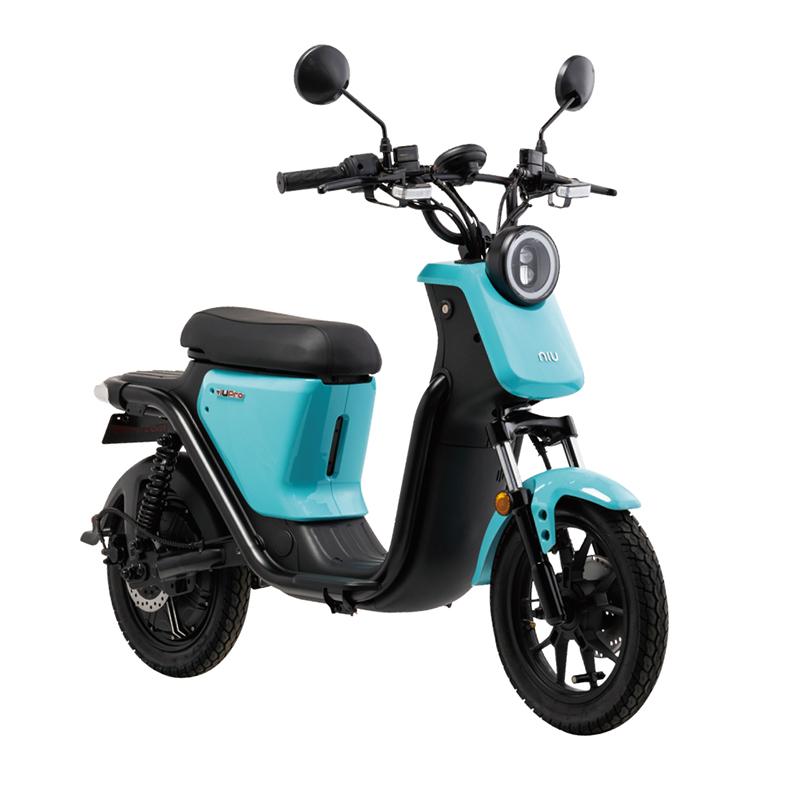 EVバイク 法人モデル ライトブルー