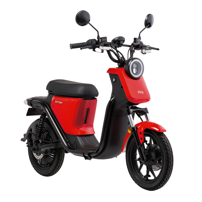 EVバイク 法人モデル レッド