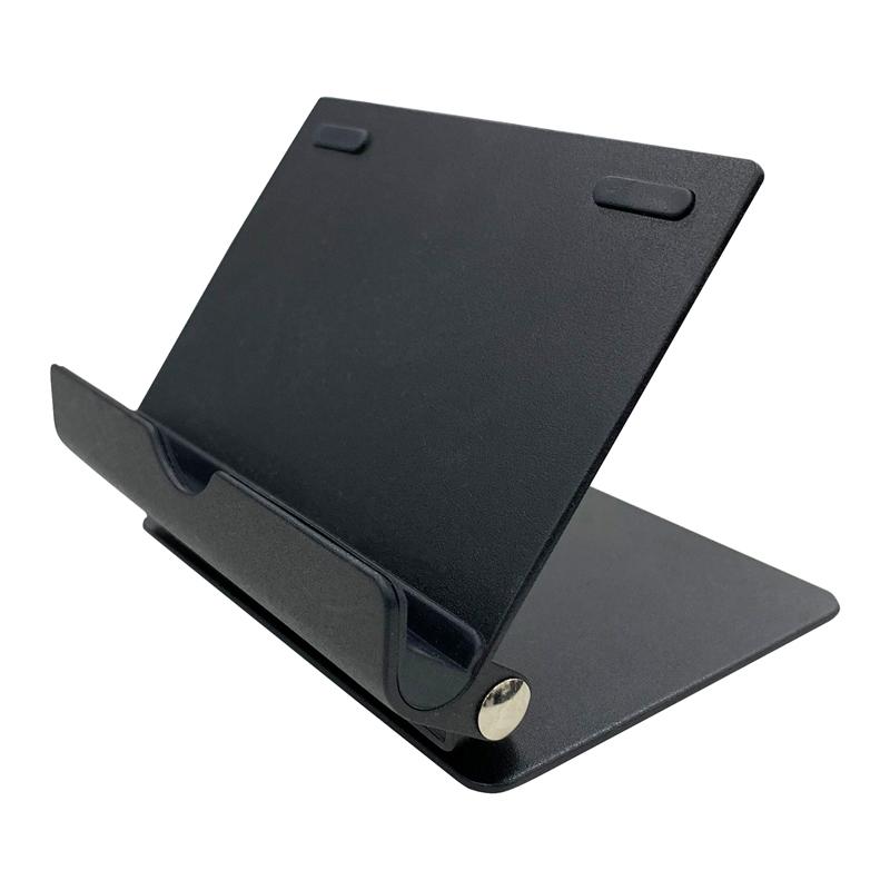汎用 タブレット回転スタンド ブラック