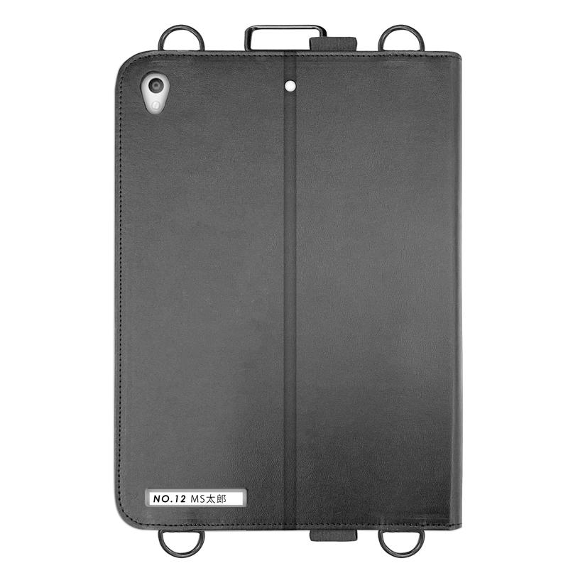iPad 2020 10.2inch/iPad 2019 10.2inch/iPad Air 2019/iPad Pro 10.5inch 合成皮革ケース ブラック
