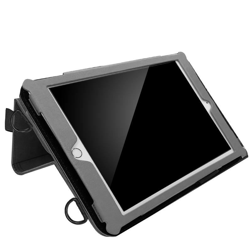 iPad 2019 10.2inch/iPad Air 2019/iPad Pro 10.5inch 合成皮革ケース ブラック