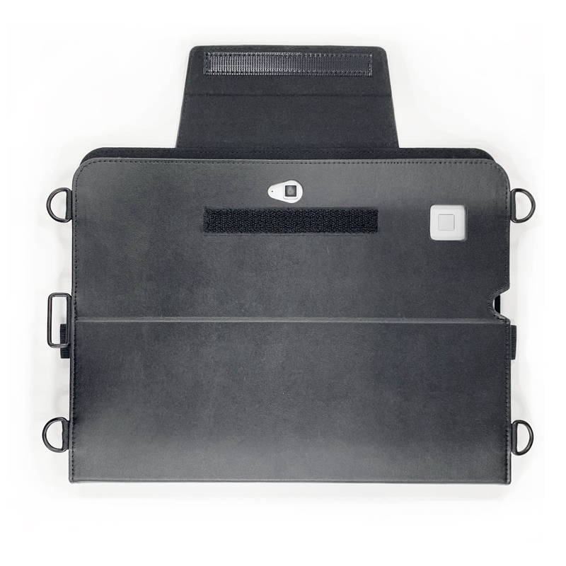 HP Elite x2 G4 首掛け合成皮革ケース ブラック
