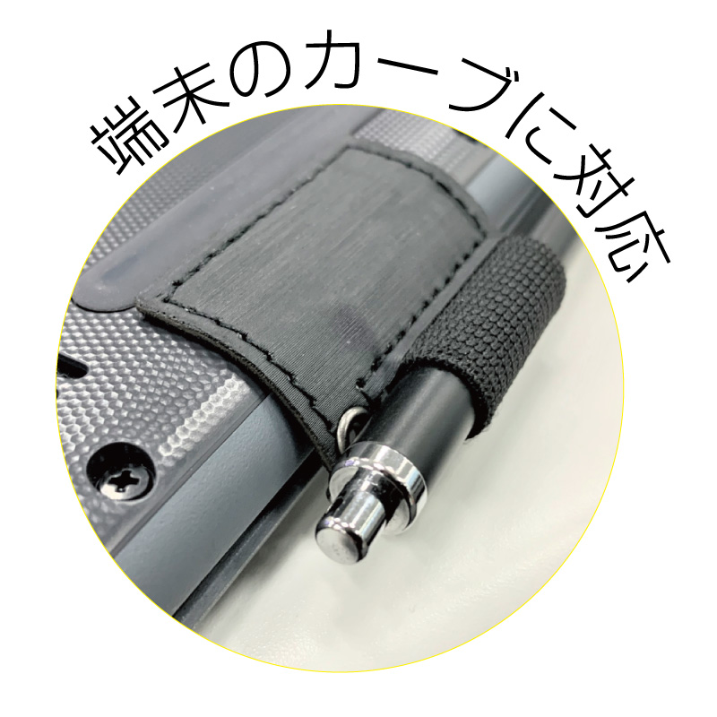 汎用 貼り付け式ペンホルダー ブラック