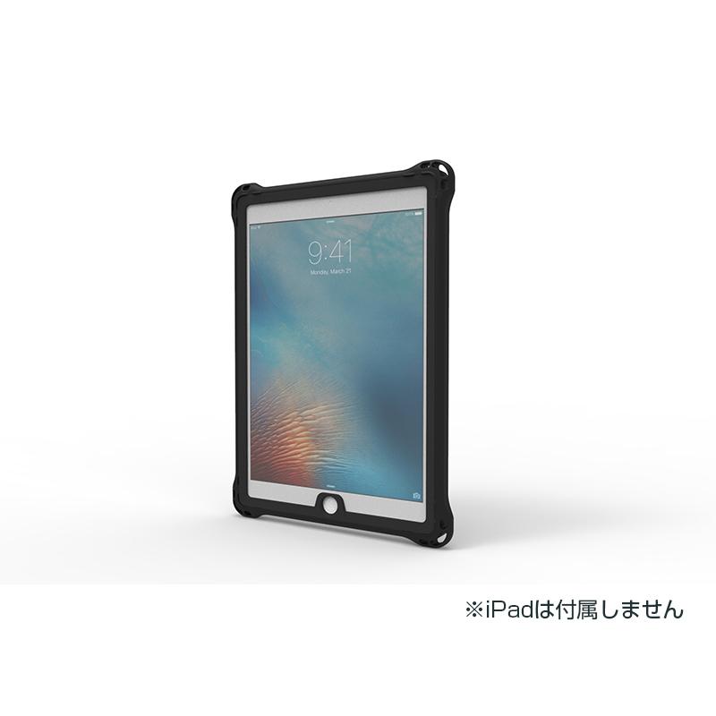 iPad 2019 10.2inch/iPad Air 2019/iPad Pro 10.5inch 防水・防塵・耐衝撃ケース ブラック