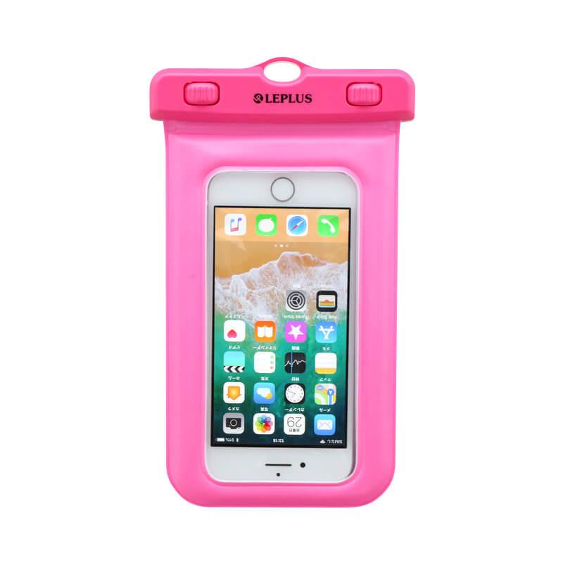 浮く防水・防塵ケース「FLOAT SAVER2」5インチ ピンク