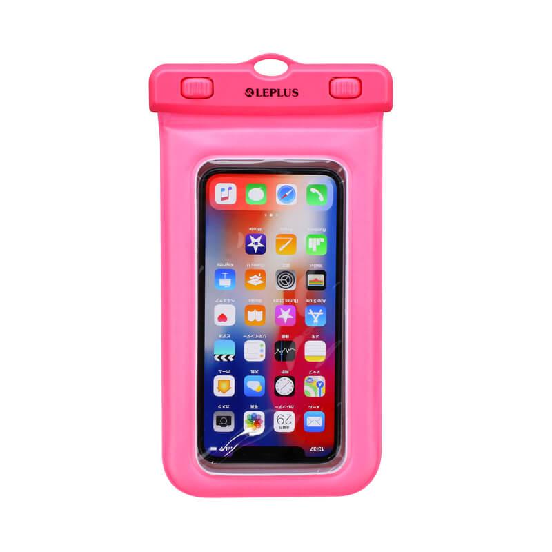 浮く防水・防塵ケース「FLOAT SAVER2」6インチ ピンク