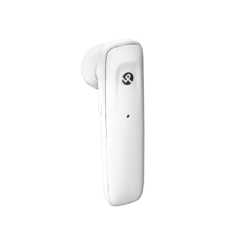 iPhone/スマートフォン ワイヤレス ヘッドセット ホワイト