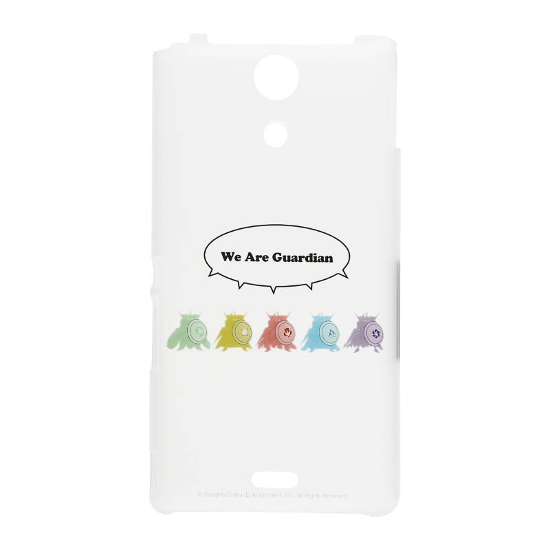 Xperia(TM) A SO-04E パズドラ ハードケース We are Guardian