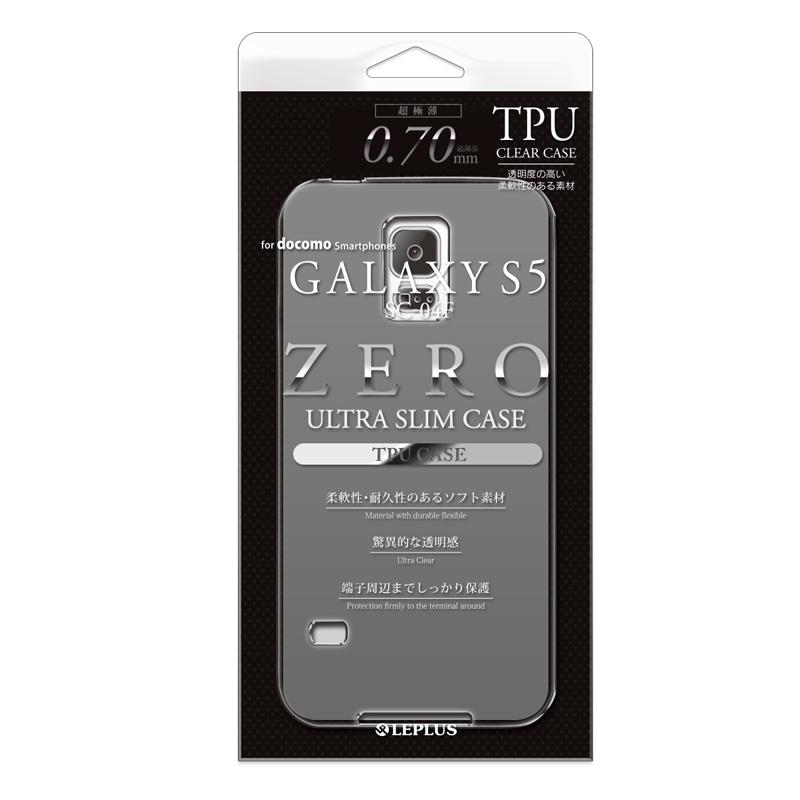 Galaxy S5 超極薄TPUケース スモーク