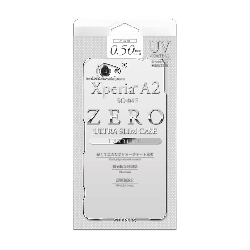 Xperia(TM) A2 SO-04F 超極薄ハードケース クリア