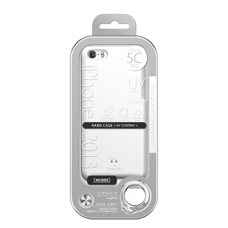 iPhone 5C ハードケース(光沢) クリア