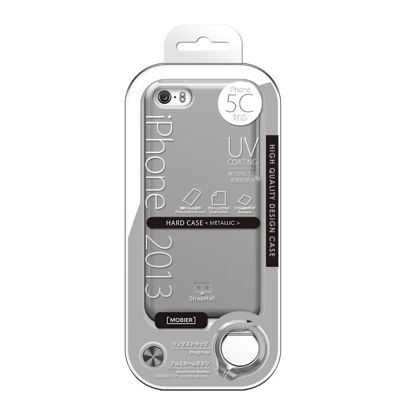 iPhone 5C ハードケース(メタリック) シルバー