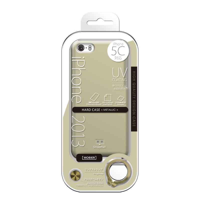 iPhone 5C ハードケース(メタリック) ゴールド