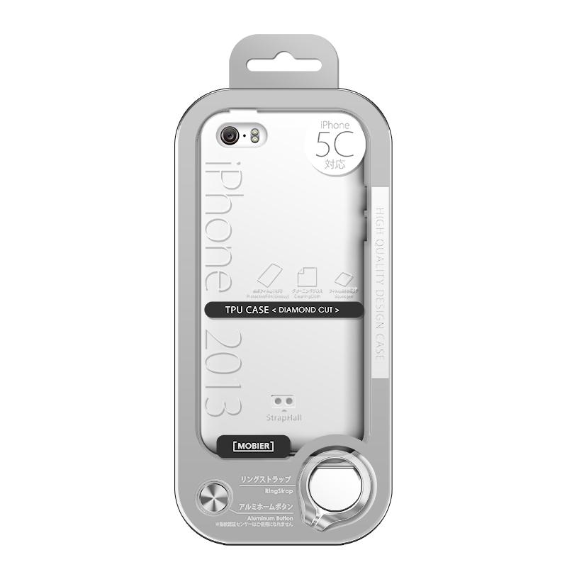 iPhone 5C TPUケース(ノーマル) クリア