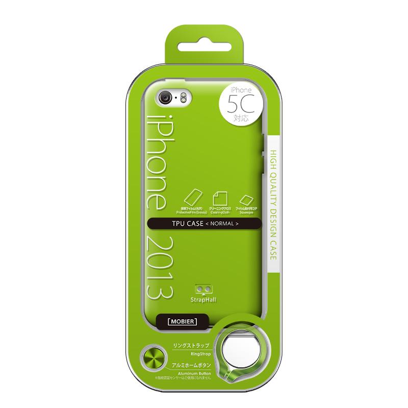 iPhone 5C TPUケース(ノーマル) グリーン
