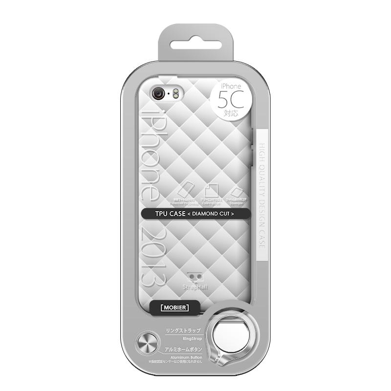 iPhone 5C TPUケース(ダイヤ) クリア