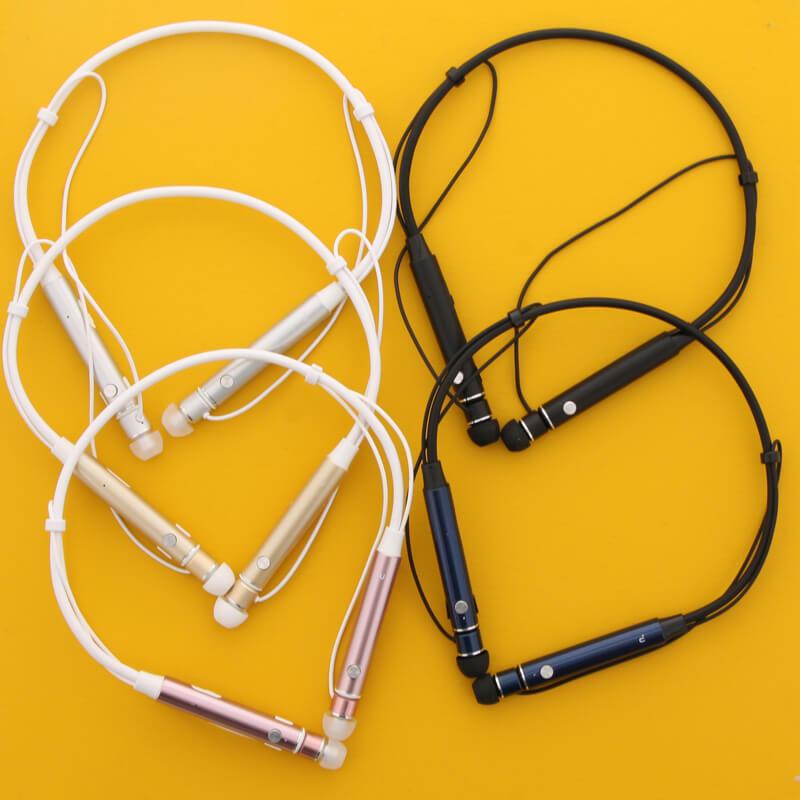 スマートフォン(汎用) 【+U】Austin/aptX・AAC対応/Bluetoothイヤホン/シルバー