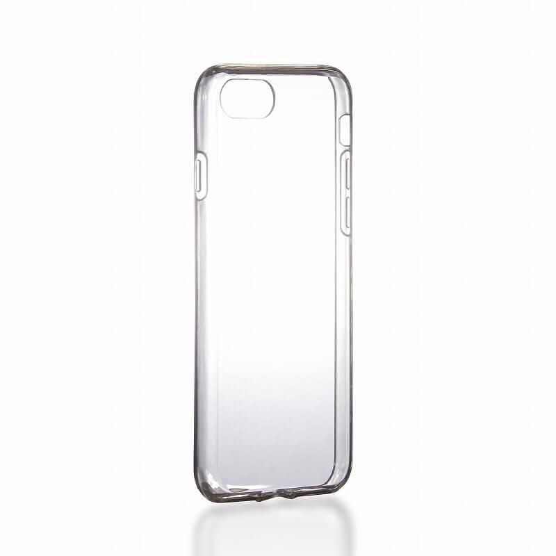 iPhone7 ガラスフィルム+ソフトケース セット 「GLASS + CLEAR TPU」 通常 0.33mm&クリア