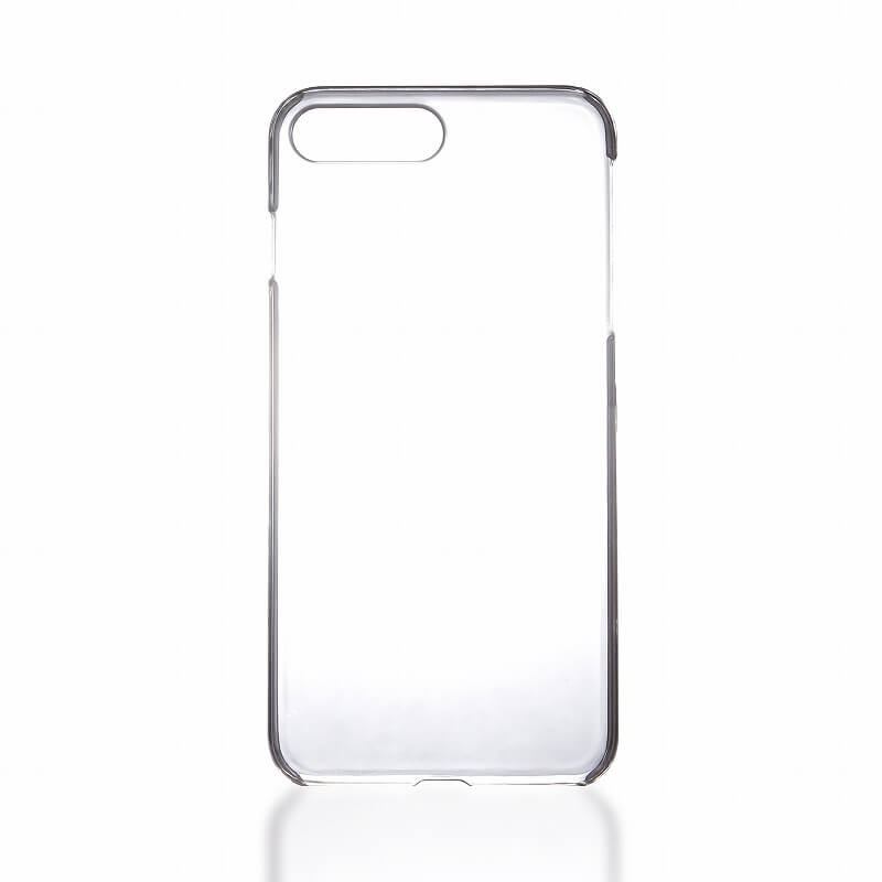 iPhone7 Plus ガラスフィルム+ハードケース セット 「GLASS + CLEAR PC」 通常 0.33mm&クリア