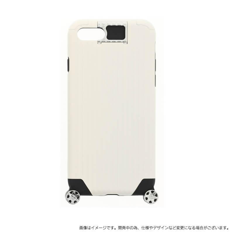 iPhone 7 【+U】Noah/キャリーケース風ハイブリットケース/ホワイト