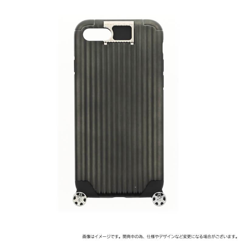 iPhone 7 【+U】Noah/キャリーケース風ハイブリットケース/ブラック