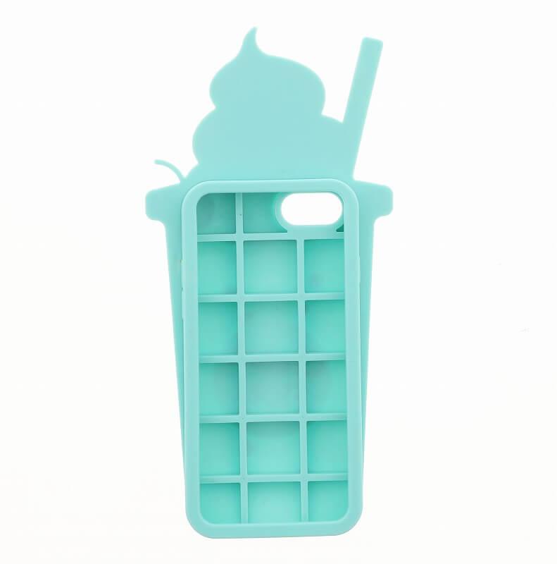 iPhone7/6s/6【Lucy】クリームフロートシリコンケース/ソーダ