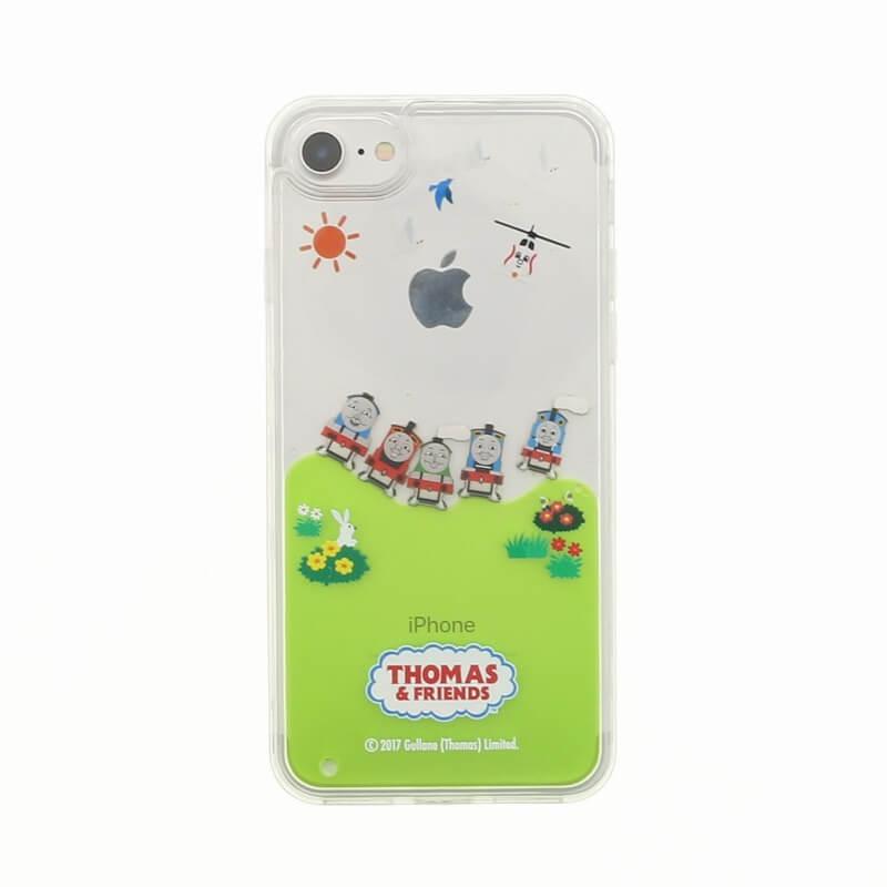 iPhone 7(THOMAS Design)ウォーターシェルケース ピクニック柄