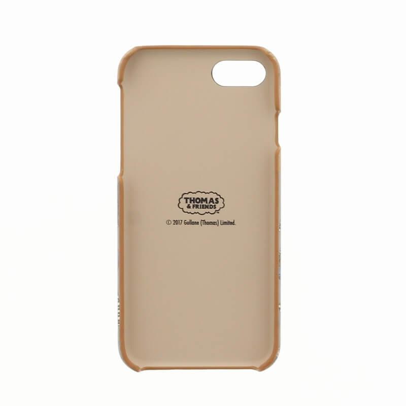 iPhone 7(THOMAS Design)ウッドシェルケース グレー
