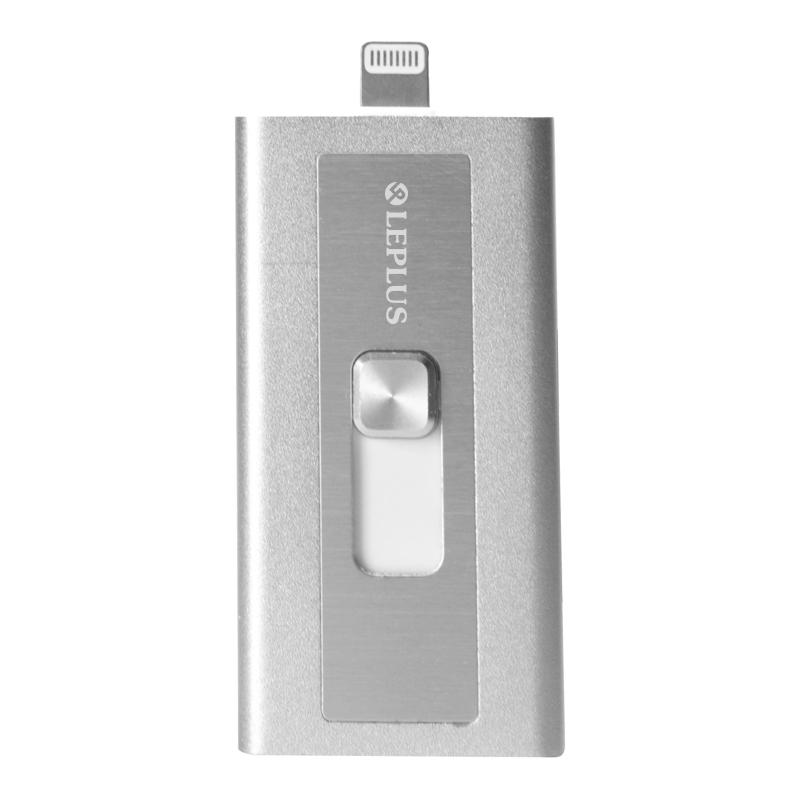 Lightningコネクタ搭載SDカードリーダーライター「Switch Memory」シルバー