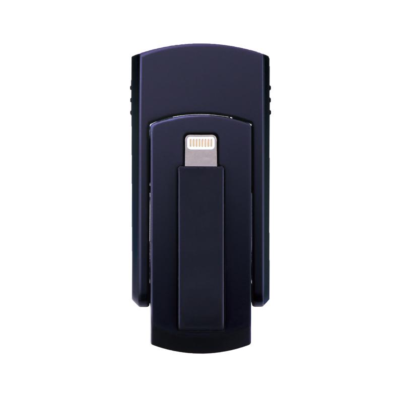 iPhone/iPad/iPod Lightningコネクタ搭載SDカードリーダーライター「SwitchMemory EX」 ブラック