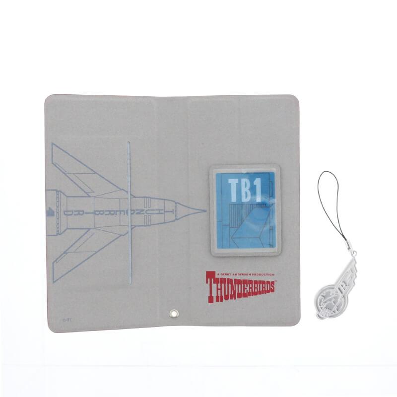 スマートフォン汎用 (Thunderbirds Design)/手帳型ケース/TB1号柄