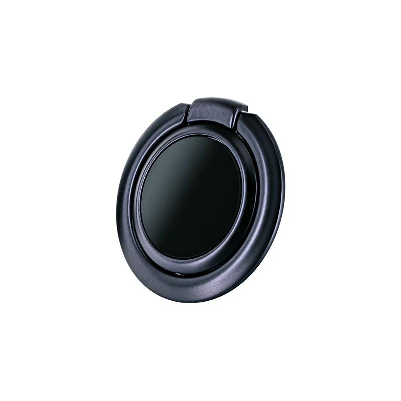スマートフォン(汎用) ワイヤレス充電対応 スマートリング「Grip Ring Smart」 ブラック