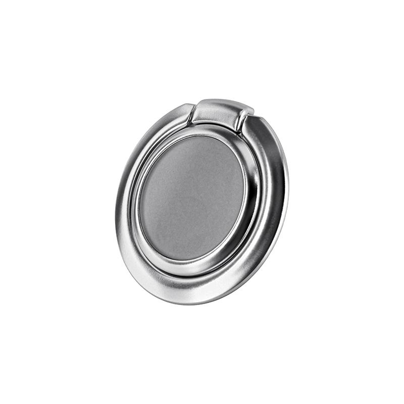 スマートフォン(汎用) ワイヤレス充電対応 スマートリング「Grip Ring Smart」 シルバー