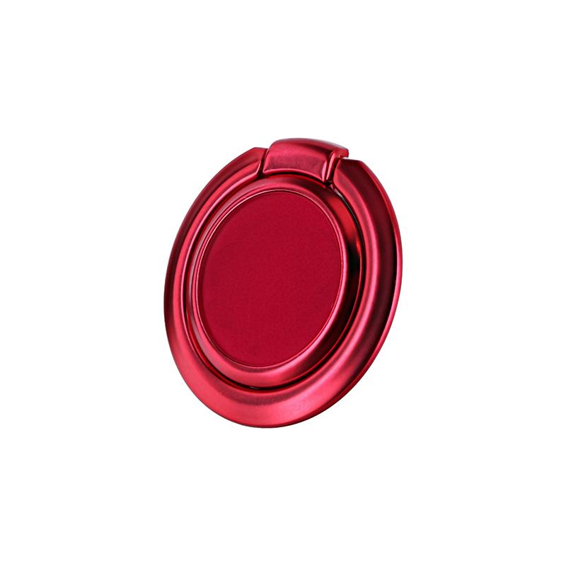 スマートフォン(汎用) ワイヤレス充電対応 スマートリング「Grip Ring Smart」 レッド