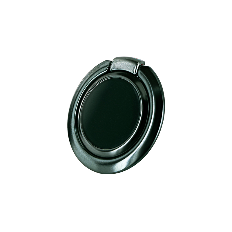 スマートフォン(汎用) ワイヤレス充電対応 スマートリング「Grip Ring Smart」 ミッドナイトグリーン