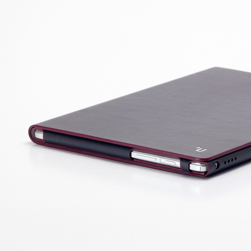 dtab d-01H 【+U】James/One Sheet of Leather case/ブラック
