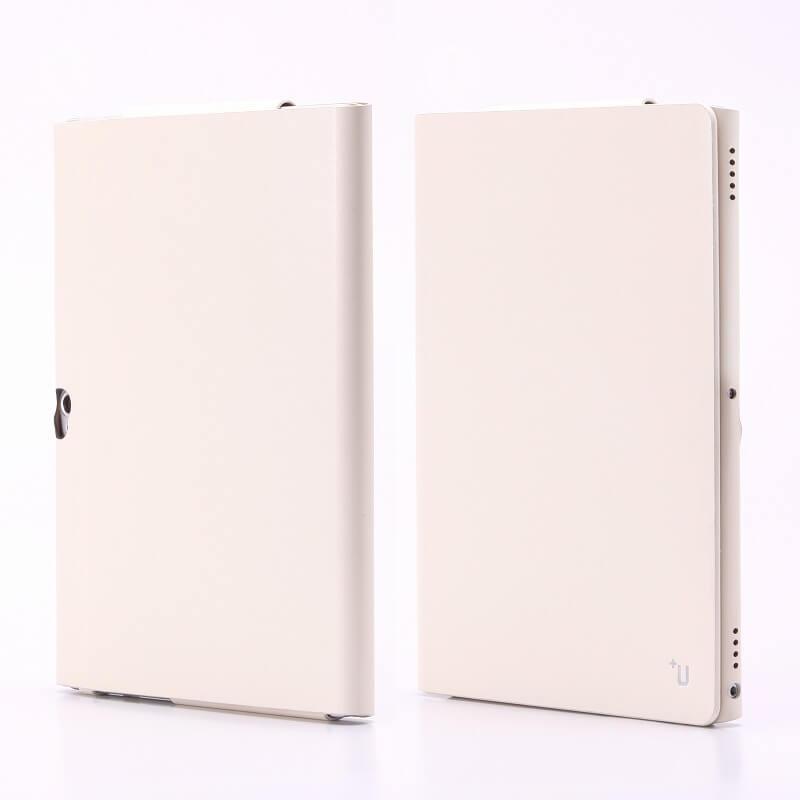 dtab d-01H 【+U】James/One Sheet of Leather case/ホワイト