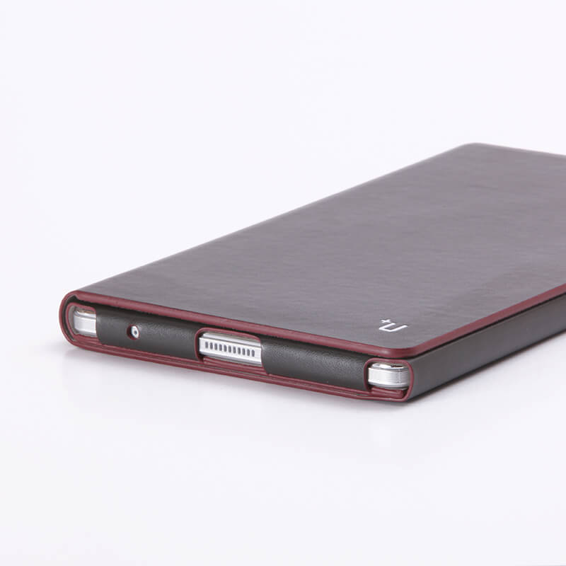 dtab Compact d-02H 【+U】James/One Sheet of Leather case/ブラック